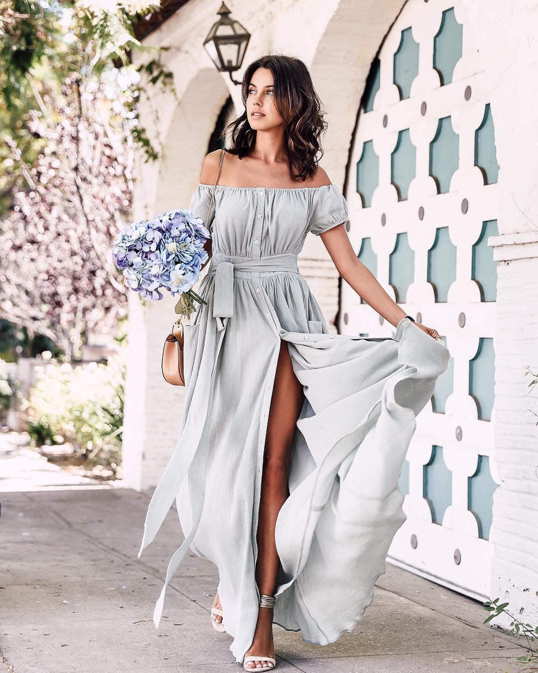 Какие платья в моде летом 2018 фото для девушек