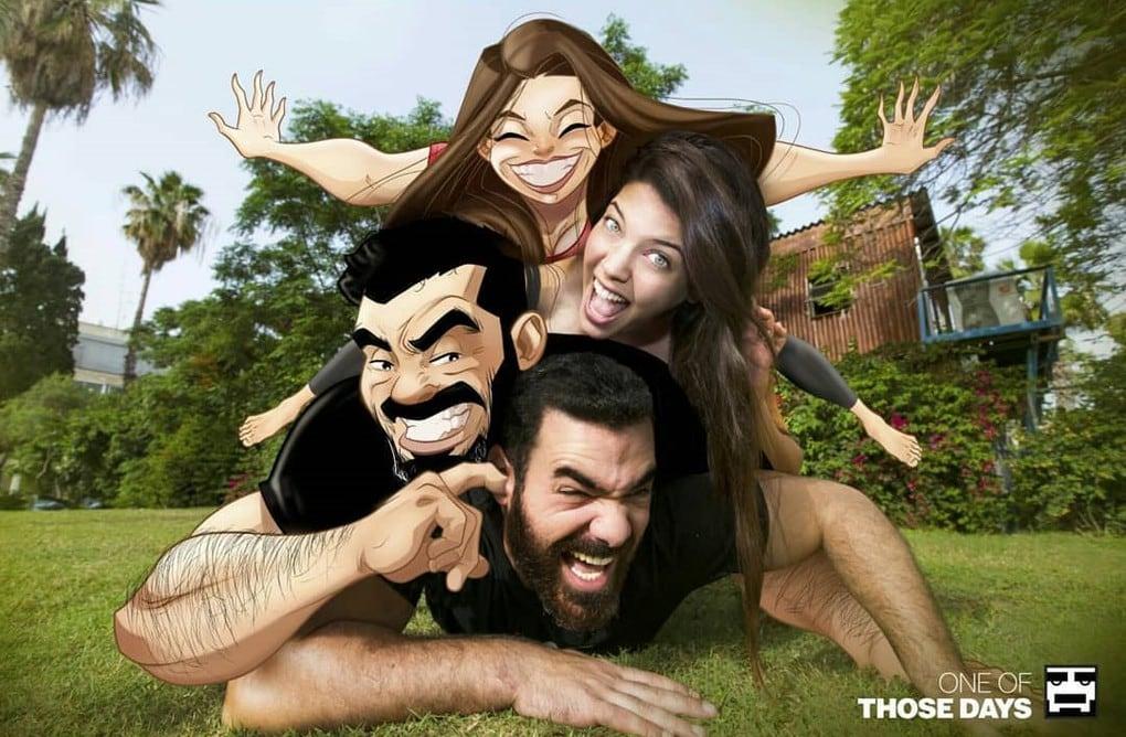 Израильский художник вновь радует нас комиксами о своей весёлой жизни с супругой. И это опять круто