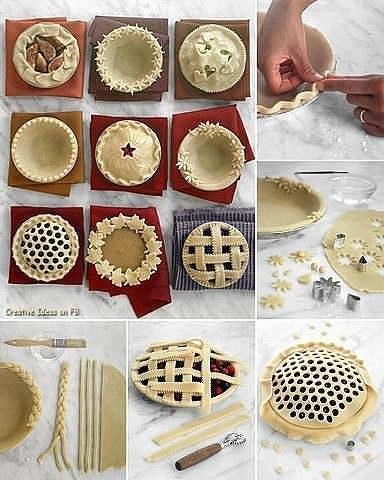 Оформление красивой выпечки- 9 самых легких идей!