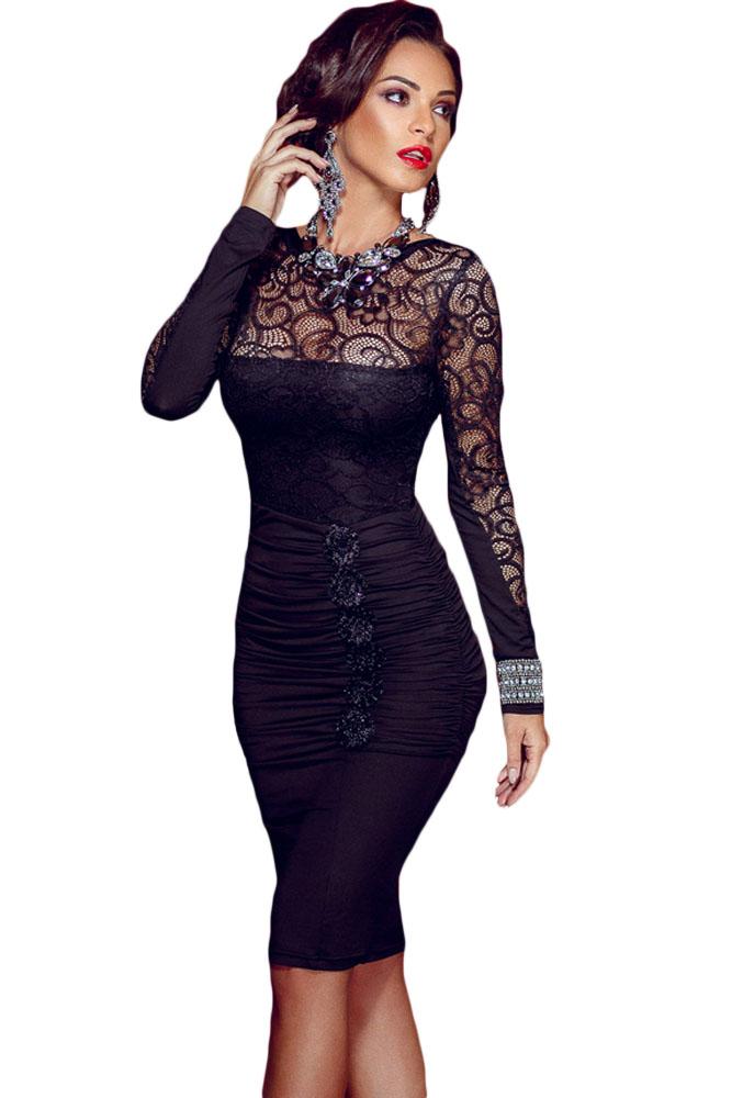 20+ элегантных черных платя для истинных леди. Сплошной восторг!