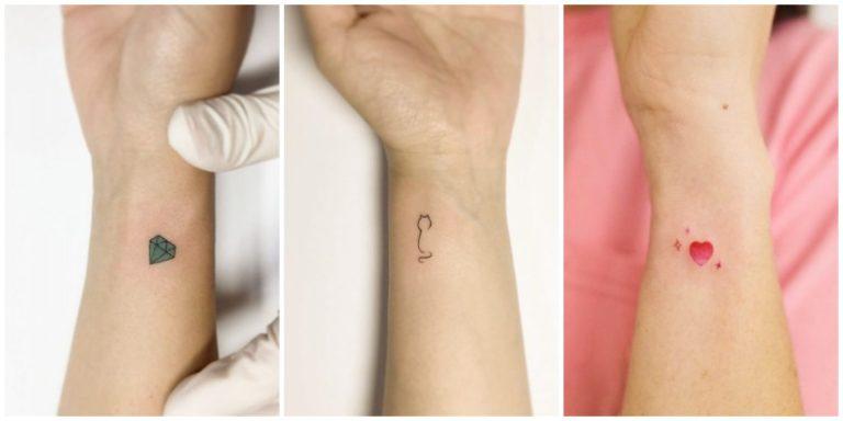 Минималистичные татуировки: идеи, которые покорят вас своей красотой