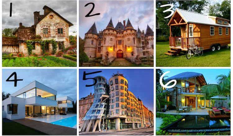 Забавный тест: выберите дом, и узнайте о себе кое-что важное!