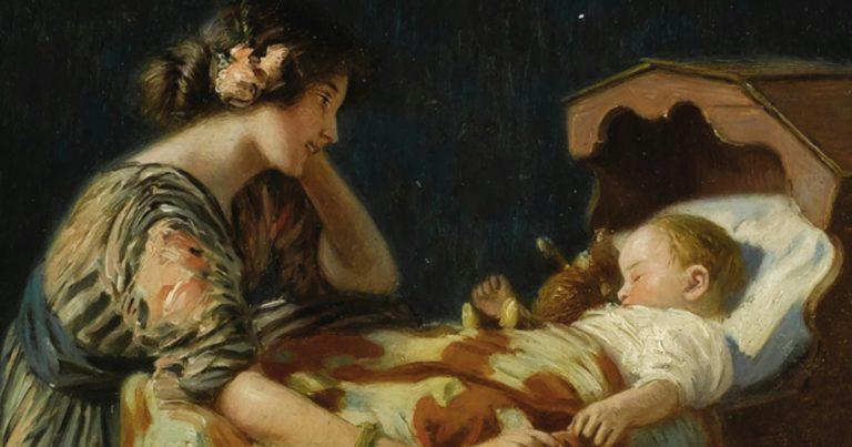 12 волшебных фраз перед сном ребёнку