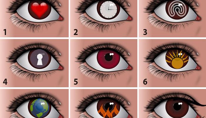 Тест девяти глаз: выбор наиболее привлекательно открывает глубины личности
