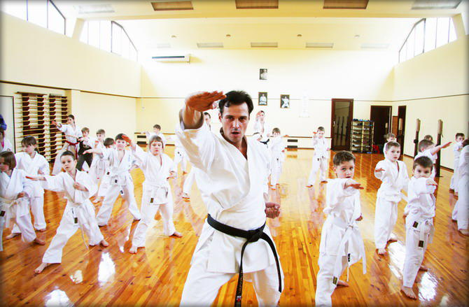 Открытие школы боевых искусств