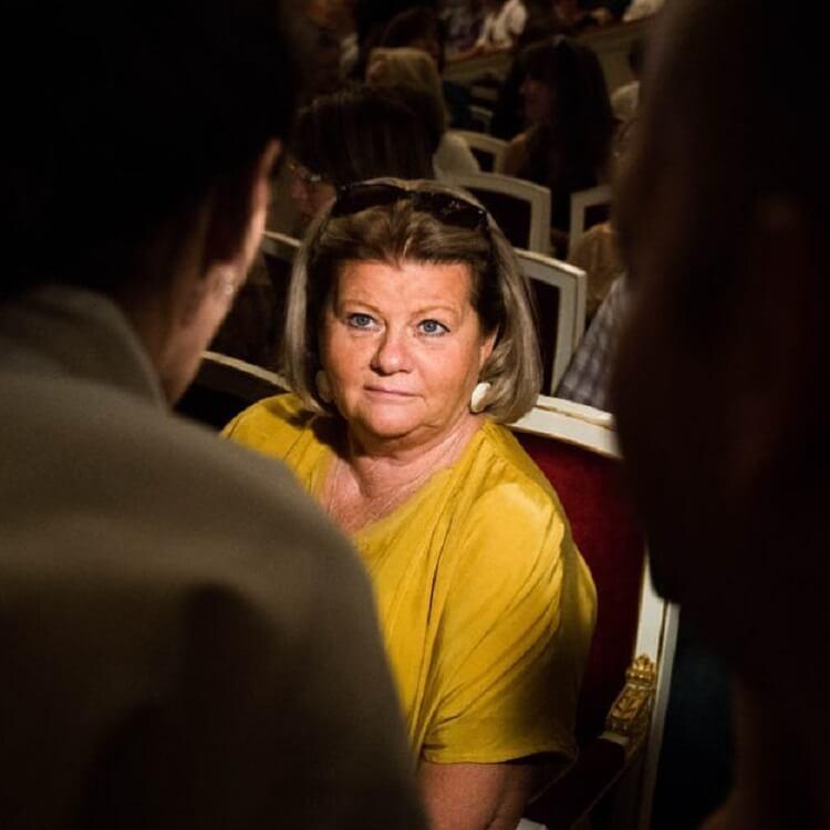 69-летняя Ирина Муравьева впервые за долгое время вышла в свет