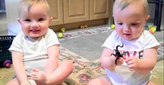 Забавные близнецы пародируют папу! 16 000 000 просмотров! Чистый позитив!