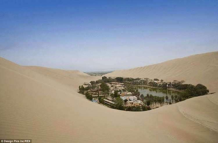 Нет, это не мираж! Удивительный город-оазис среди пустыни в Перу